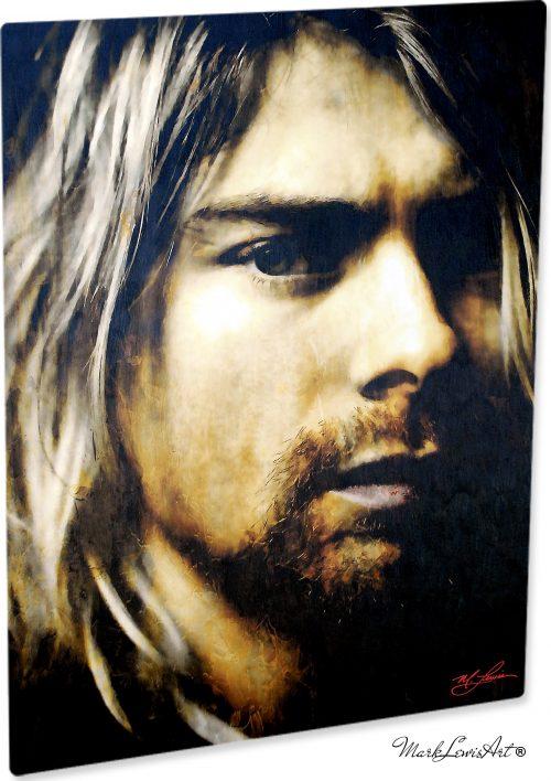 Kurt Cobain - As Darkness Fell by Mark Lewis