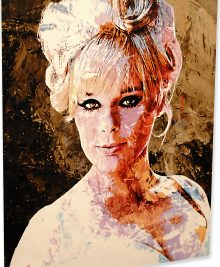 Elke Sommer - Beautiful Sommer by Mark Lewis