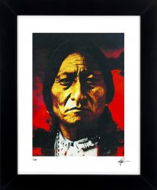 Sitting Bull - Behold The Sun by Mark Lewis