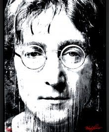 John Lennon - John Lennon BW by Mark Lewis