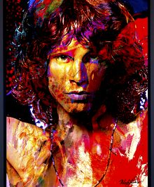 Jim Morrison - Window Of My Soul by Mark Lewis